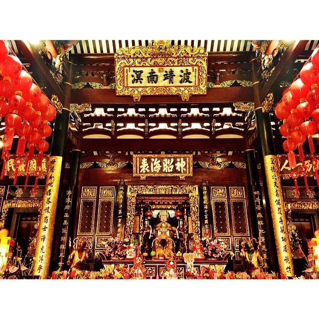 ไหว้แม่: #iczzsg #วัดเทียนฮกเก๋ง Thian Hock Keng Temple ไหว้เจ้าแม่