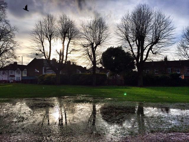 London - après la pluie vient...