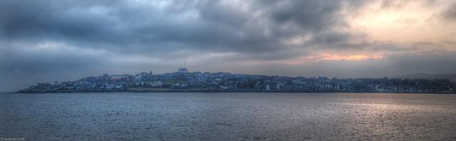 Lerwick; capital of Shetland