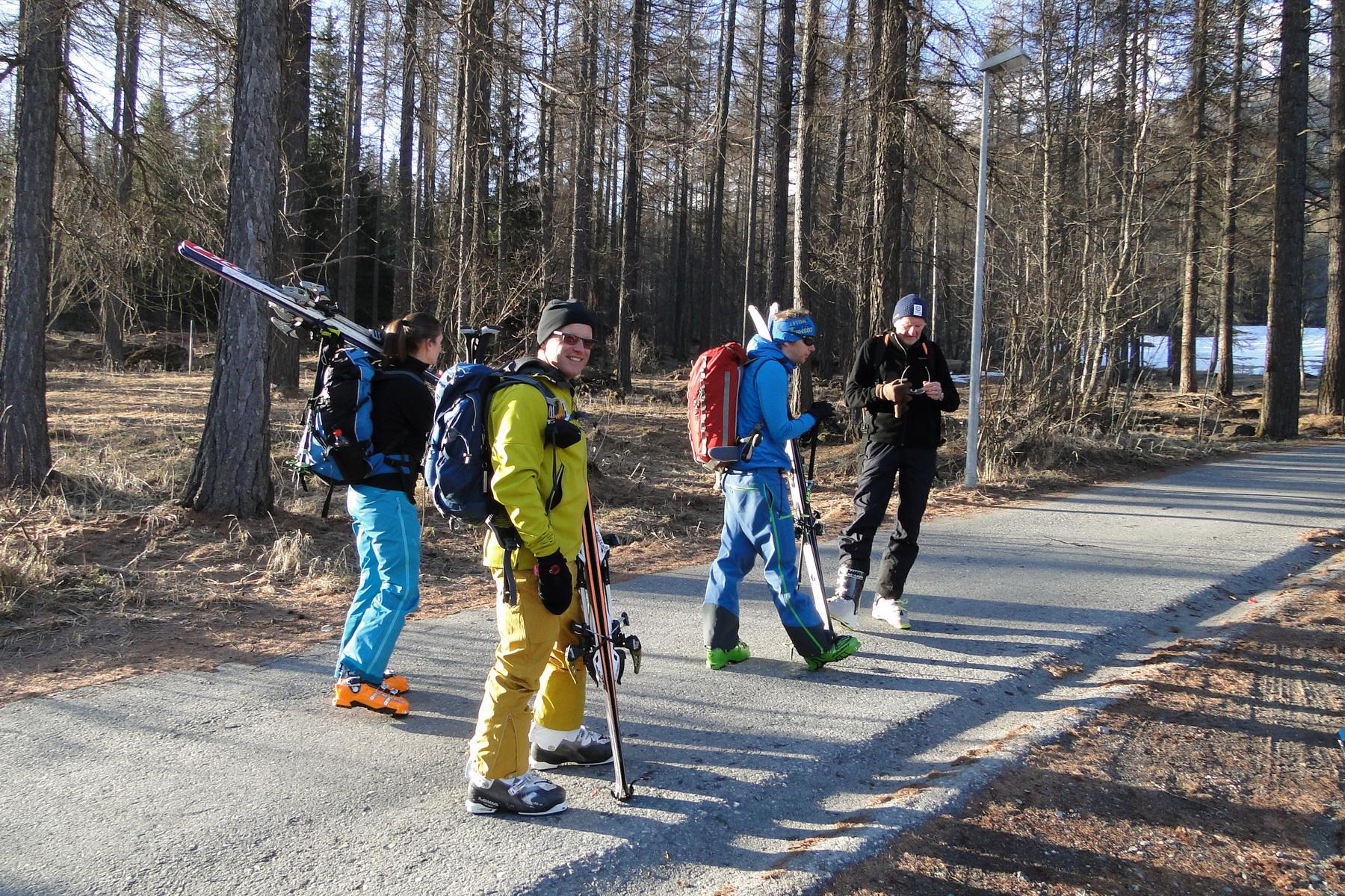 Skitourentage Muntet 27.03.2017