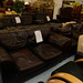 Brown leather suite E250 2+1+1
