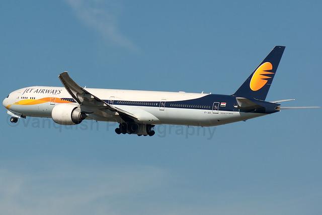 VT-JEH Jet Airways India B777-300ER London Heathrow Airport Archive