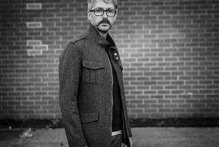 Casual Menswear: V-neck Jumper \ T-shirt \ Chinos \ Grey Jacket \ Canvas Boots \ Silver Londoner, over 40 style | by silverlondoner