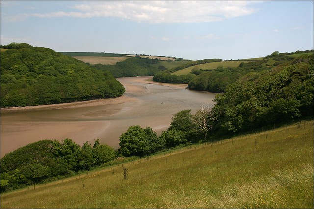 The River Avon between Bantham and Aveton Gifford