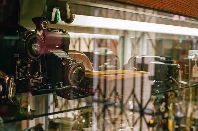 Antique Store Cameras