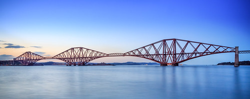 Forth Bridge at dusk | by Hilts uk