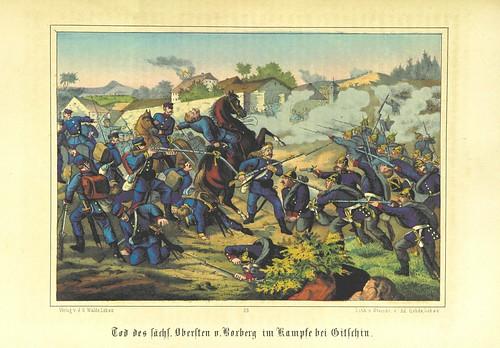 """British Library digitised image from page 235 of """"Illustrirtes Gedenkbuch der Kriegsereignisse des Jahres 1866, etc"""""""