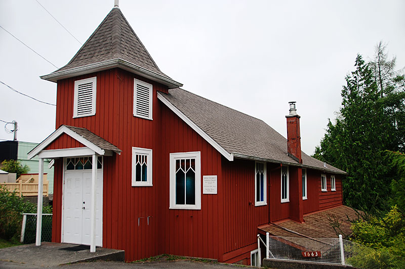 Holy Family Catholic Church, Ucluelet, Vancouver Island, British Columbia