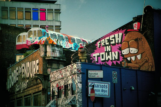 Flickr Out In The Real World - Shoreditch London by Simon Hadleigh-Sparks