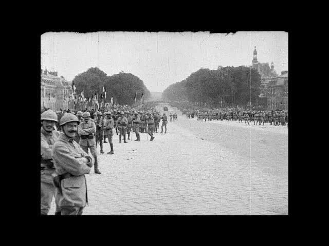 1919 Fredsaftalen underskrives i Versailles