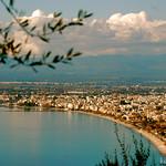 Θέα Κάλαμάτας από Βέργα