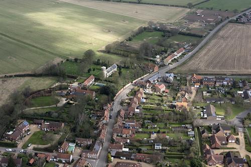 syderstone village norfolk aerial northnorfolk aerialphotography aerialimage aerialphotograph aerialimagesuk aerialview viewfromplane droneview britainfromtheair britainfromabove hires highresolution hirez hidef highdefinition