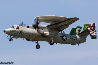 US NAVY VAW-115  E-2C Hawkeye CAG