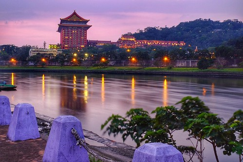 grandhotel 圓山飯店 大佳河濱公園 riverside river sunset fujifilm xt1 xf1655