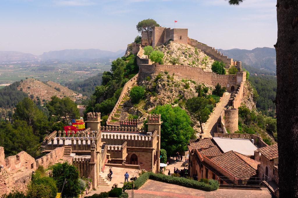 Map Of Xativa Spain.Xativa Castle Valencia Spain Roxy Flickr