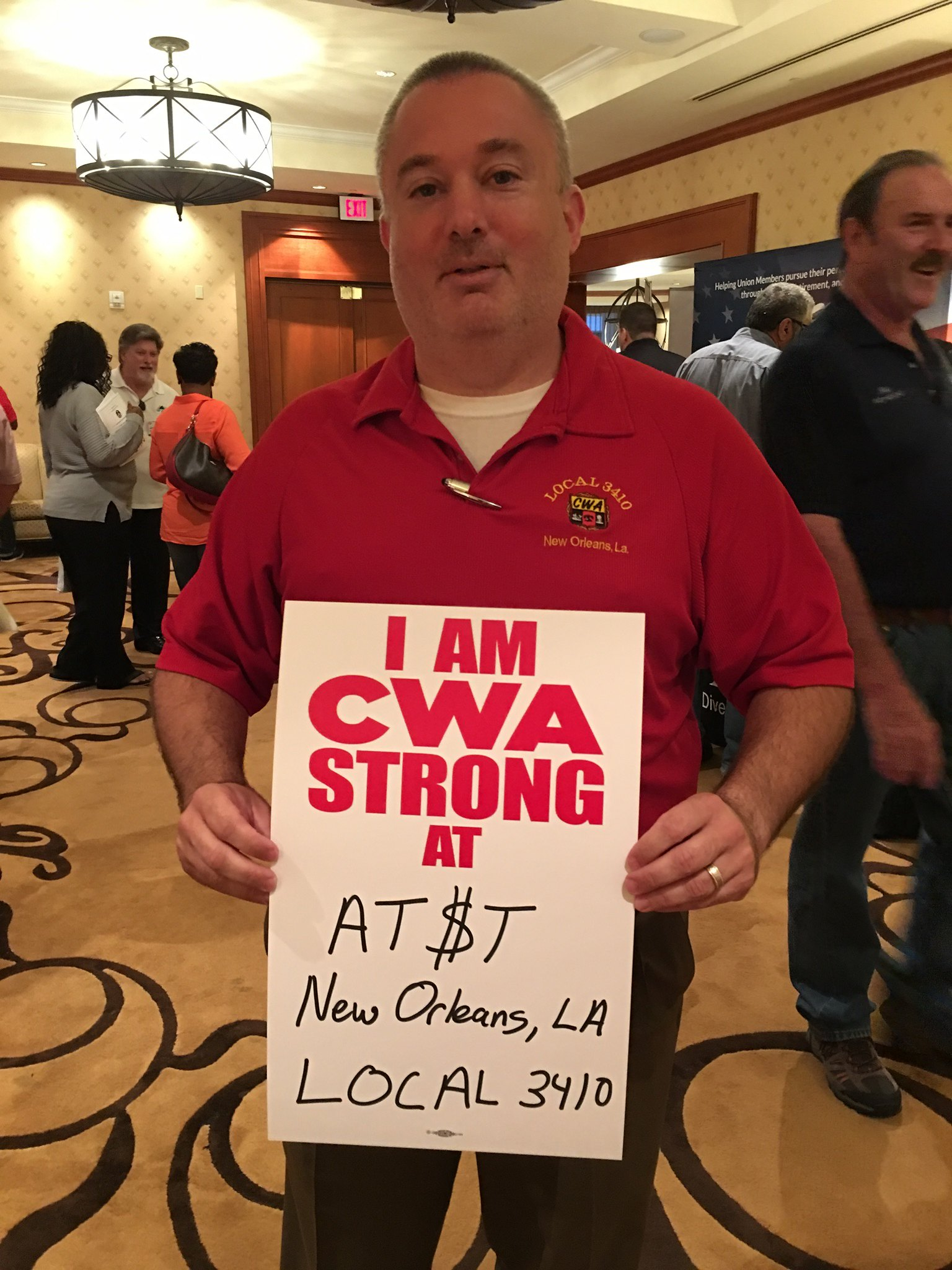 CWA STRONG at the 2017 District 3 Meeting