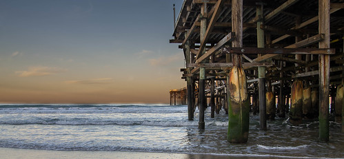 crystalpier pacificbeach pacificocean ocean seaside westcoast coast beach pier sandiego california sunrise
