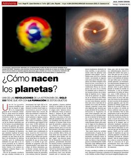 Zoco Astronomía: ¿Cómo nacen los planetas? | by Ángel López-Sánchez