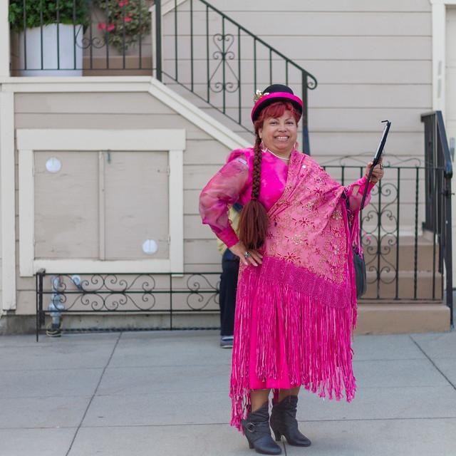 Carnaval San Francisco 2013: spectator
