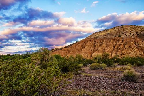 arizona clouds sunrise landscape unitedstates desert wilderness lakehavasucity castlerock lakehavasuwildlifepraserve
