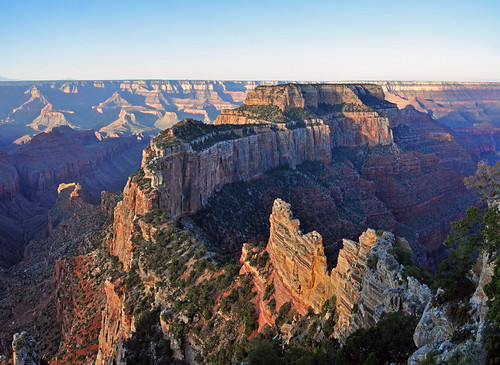 Grand Canyon National Park: North Rim: Muted Sunrise From Cape Royal 0163 | by Grand Canyon NPS