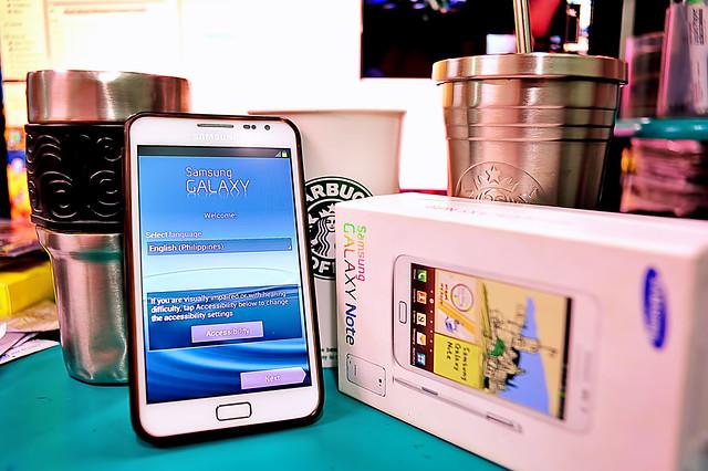 My Gadgets - Samsung Note - 2013