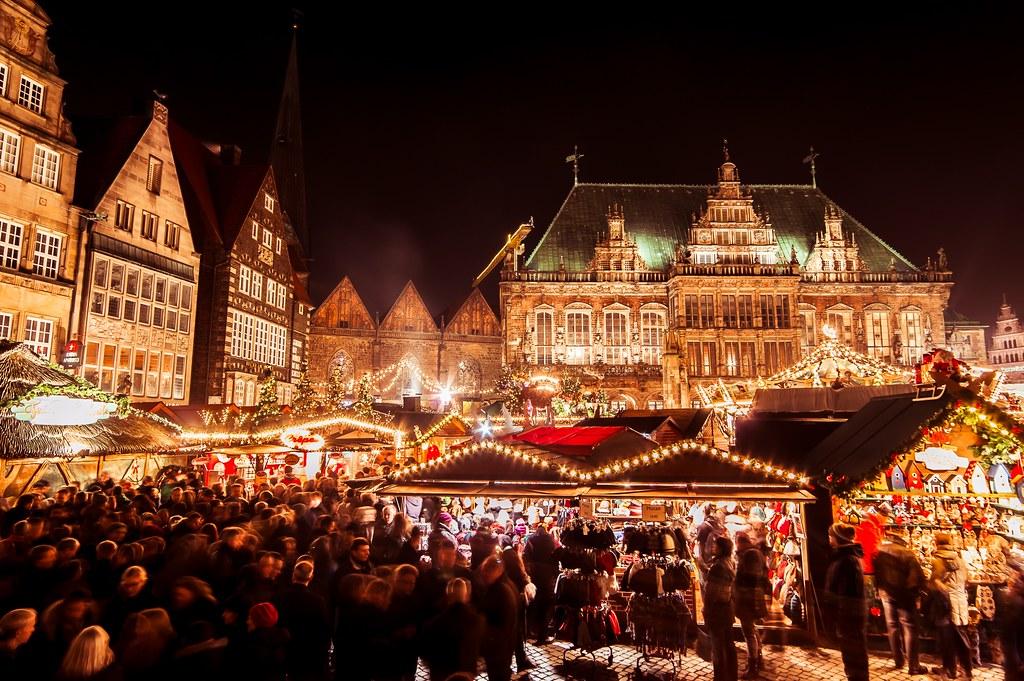 Bremen Weihnachtsmarkt.Bremen Weihnachtsmarkt Auf Dem Marktplatz Bremer Weihnacht Flickr