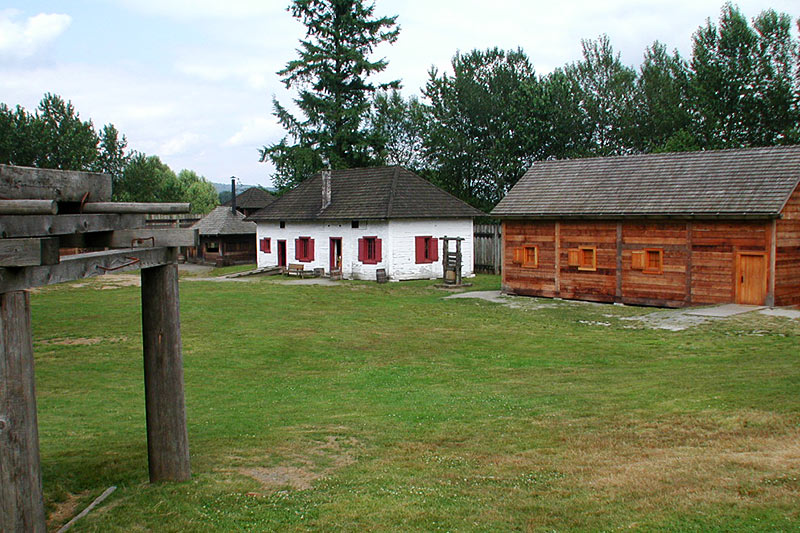 Fort Langley National Historic Site, Fort Langley, Fraser Valley, British Columbia, Canada