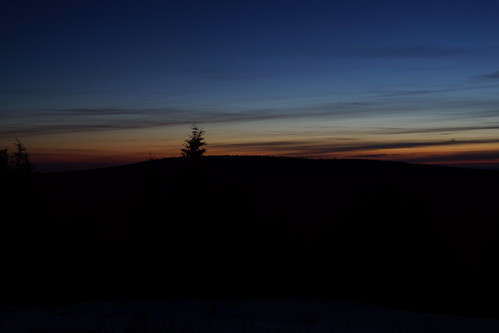 sunset thuringia skyatnight thüringerwald thuringianforest schneekopf