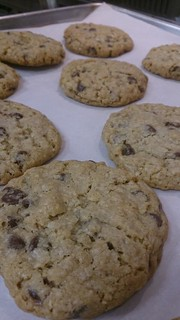 choc rice crispy cookies j | by CLNH Lunchbox Cafe