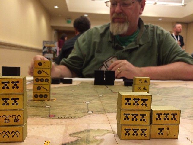 Best Civil War Board Games Sekigahara with Ken at GameStorm 16