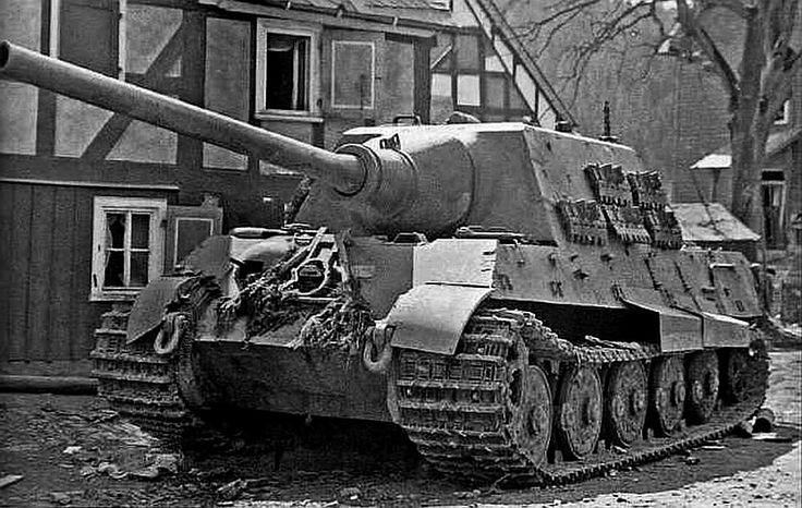 Abandoned Jagdtiger