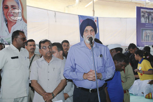 Brig P.S. Cheema Member Executive Committee, SNM expresses his views