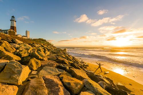 sonya7riiwithefmountlens sonya7r2 withmytamron tamronsp1530 tamronusa longisland montauk lighthouse atlanticocean surf sunrise wave excercise newyorkstate