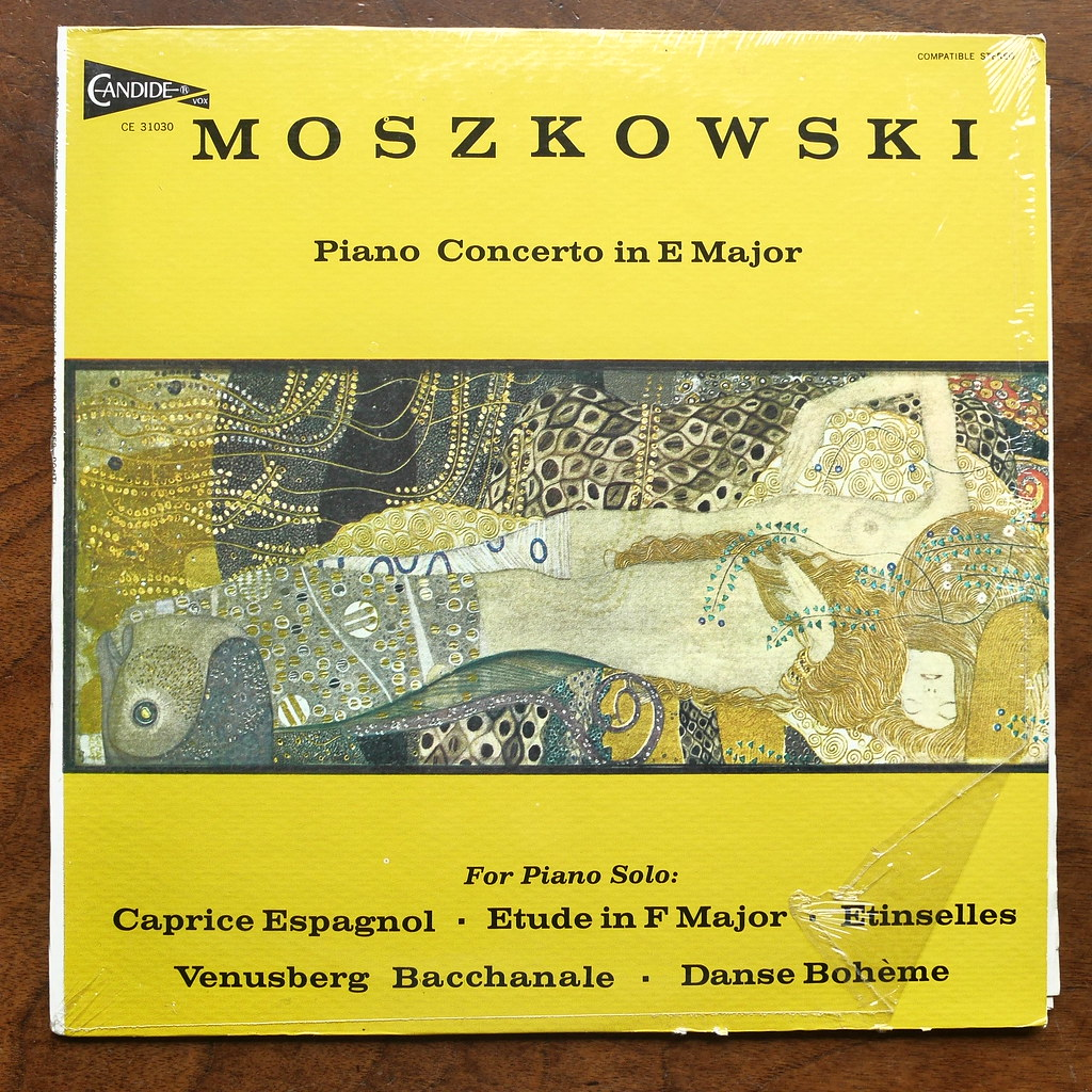 better low price really cheap Moszkowski - Piano Concerto E Major op.59 & Caprice Espagn ...