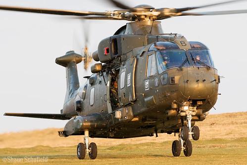 AgustaWestland Merlin HC3i ZJ118/B Royal Navy Dartmoor 19/04/17 | by Shaun Schofield