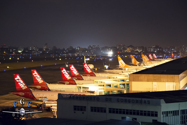 Aeropuerto de Congonhas, San Pablo, Brasil