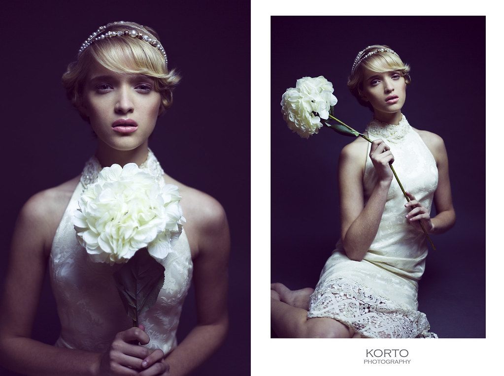 White Oleander | Model: Jesse Stewart of Ford Models Chicago