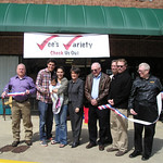 2013-03-25 Vee's Variety Ribbon Cutting
