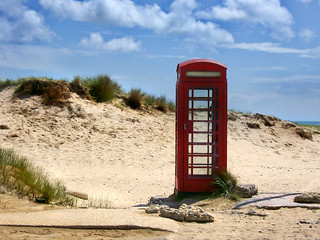 Desolate Phone Box | Actually this phone box is not as desol