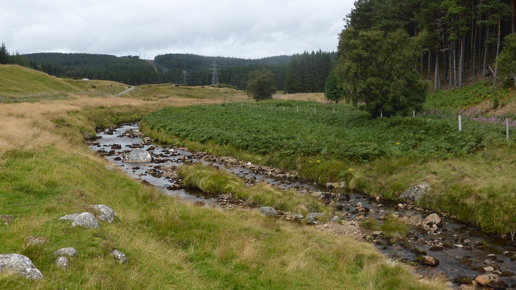 The Findhorn at Clunes