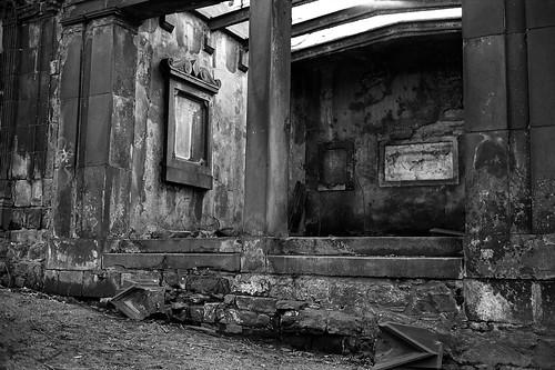 """Image titled """"Derelict, St Cuthbert's Church, Edinburgh."""""""