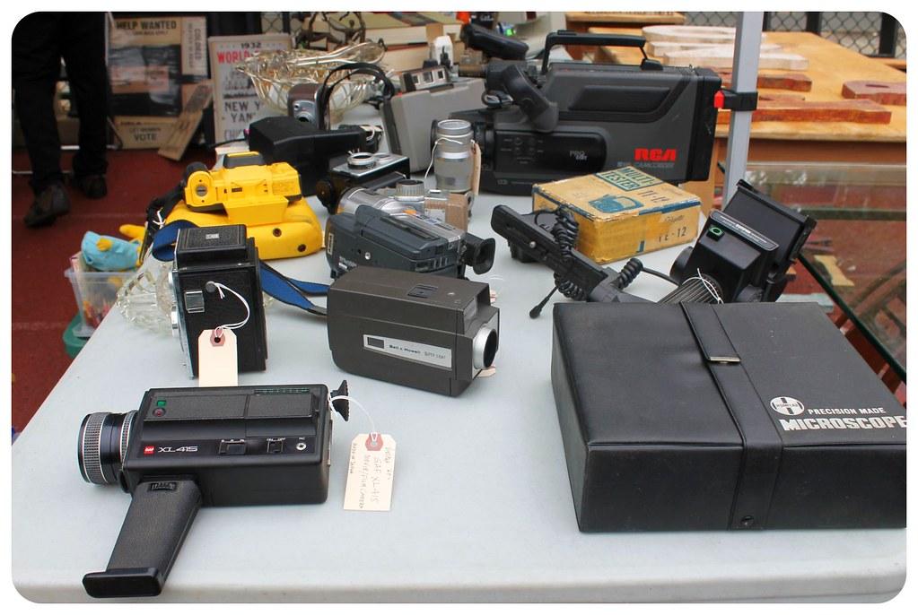 brooklyn flea video cameras
