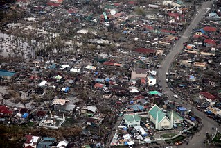 Aerial view of Tacloban after Typhoon Haiyan | by DFID - UK Department for International Development