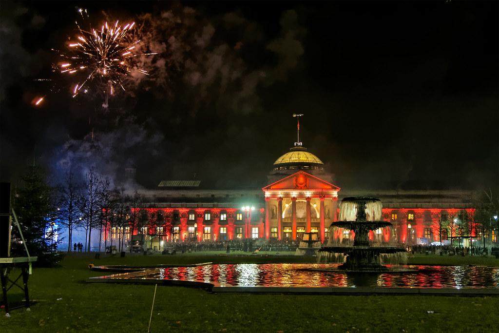 Wiesbaden Feuerwerk