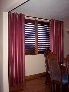 Shutters and Grommet Drapes