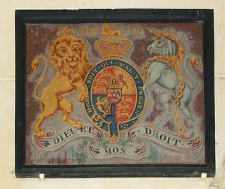 G IV R royal arms