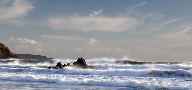 Surf - Marloes Sands, Pembrokeshire.