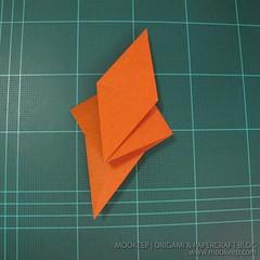 วิธีพับกระดาษเป็นรูปหมี (Origami Bear) 001