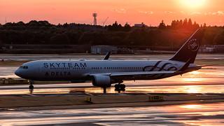 N175DZ | Boeing 767-300(ER) | Delta | Tokyo Narita | March 2017 | by Flightline Photography UK